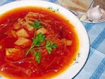 Борщ из курицы со свежей капустой пошаговый рецепт с пошагово в